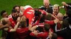 Gales hace historia y apea a B�lgica de la Eurocopa