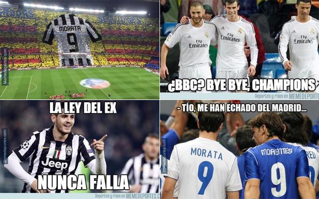 Los memes del Real Madrid - Juventus de Champions League