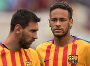 'Neymar' y Messi, en una imagen de archivo