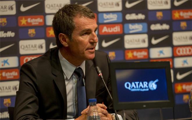 Robert Fern�ndez, secretario t�cnico del FC Barcelona