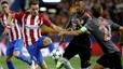 Atletico Madrid ran much further than Bayern Munich in clash
