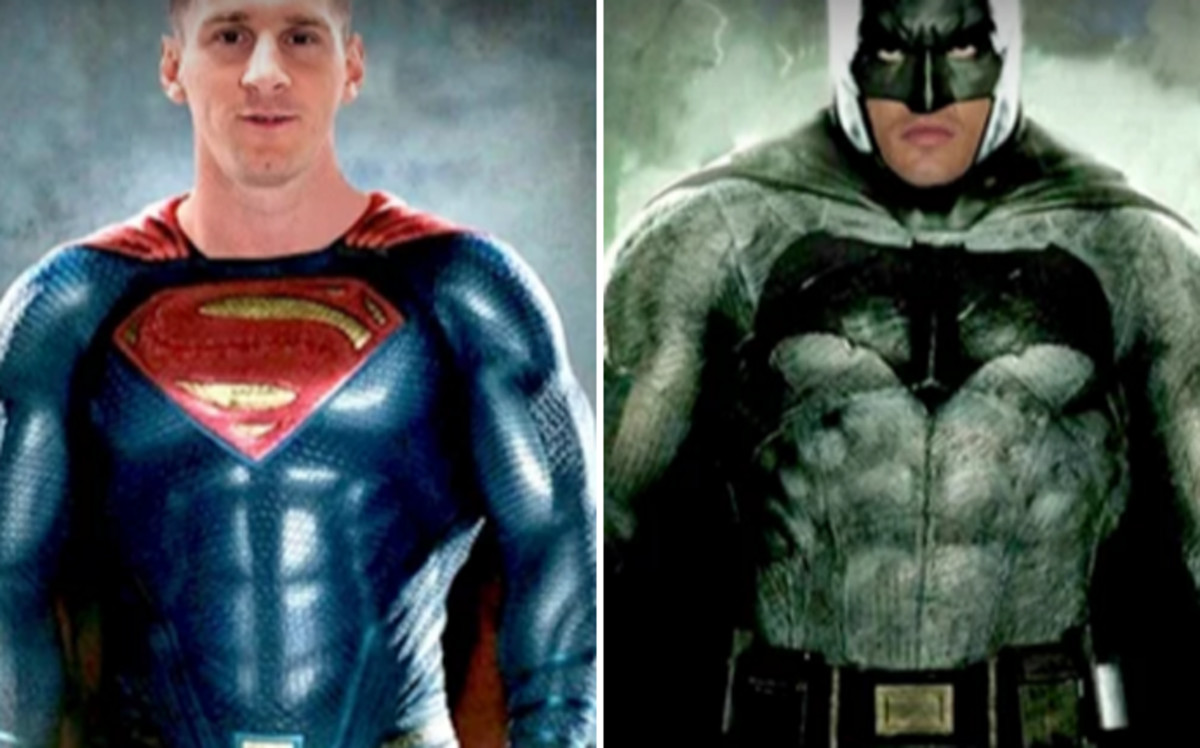 El vídeo que arrasa: Superman Messi vs. Batman Cristiano Ronaldo