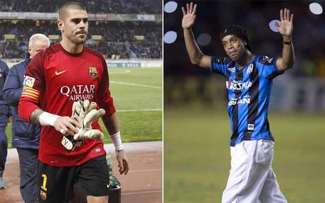 Operación reencuentro fallida Valdés-Ronaldinho en el Querétraro