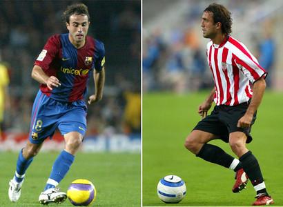 Santi Ezquerro fue el último futbolista que vistió las dos camisetas