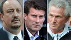 Bentez, Laudrup y Heynckes, candidatos al banquillo del Real Madrid