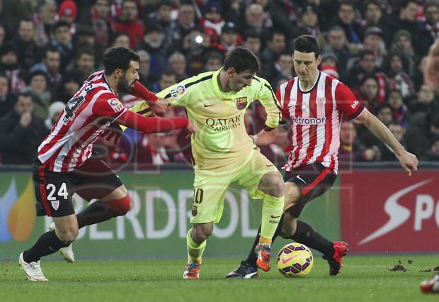 صور : مباراة أتليتيكو بلباو - برشلونة  2-5 ( 08-02-2015 ) 1423435619713