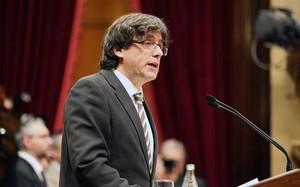 Carles Puigdemont, nuevo presidente de la Generalitat de Catalunya