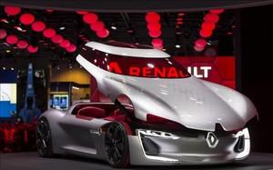 El Renault Trezor, la novedad de Par�s m�s valorada por los internautas