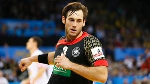 Uwe Gensheimer marcó ocho goles ante Bahrein para el pleno de Alemania