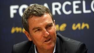 Robert Fernández destacó el excelente partido del Barça