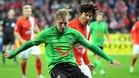Rajtoral, internacional checo, jugó también en el Hannover alemán