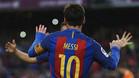 Leo Messi sigue demostrando que sus registros son de otra galaxia