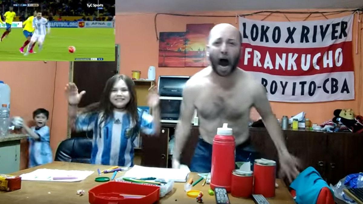 La brutal reacción al hat-trick de Messi