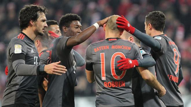 El Bayern salva el escollo de Mainz
