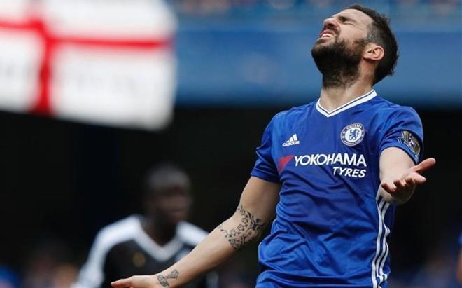 Cesc no cuenta para Conte y podr�a cambiar el Chelsea por el Inter