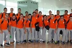 Los expedicionarios, a su salida de Barcelona