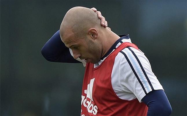 """Mascherano: """"No creo que pueda retirarme en el Bar�a"""""""