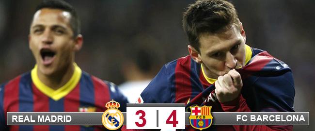 Un Messi imperial vuelve a meter al Bar�a en la Liga