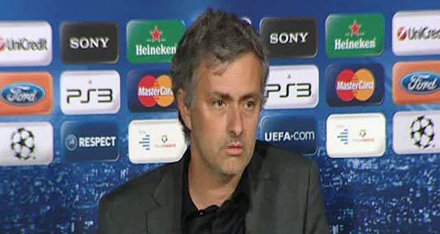 Mourinho culp� al �rbitro de la derrota y ya se ve eliminado