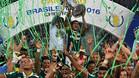El Palmeiras festejó el título