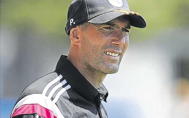 Zidane veta a uno de sus hijos para el Castilla