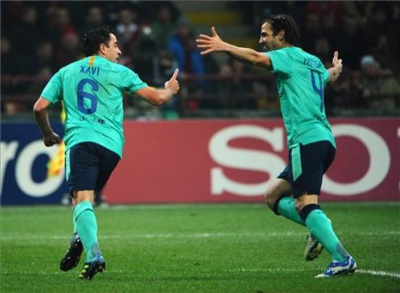 Si no estuviese Messi, Xavi seria el mejor del mundo