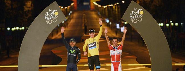 Chris Froome se corona en París