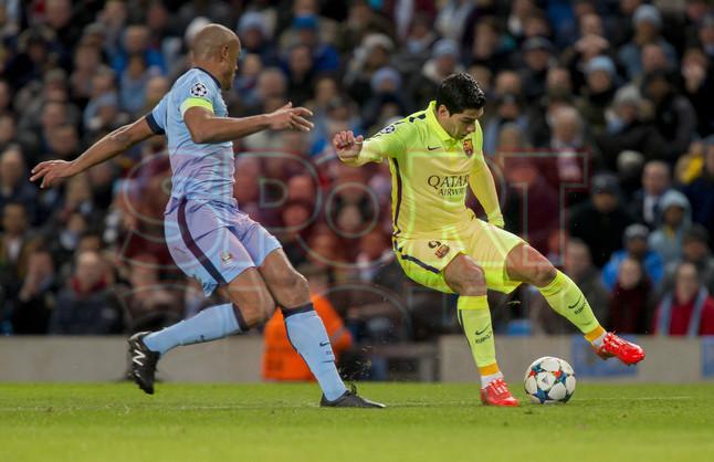 صور : مباراة مانشستر سيتي - برشلونة 1-2 ( 24-02-2015 )  1424816339023