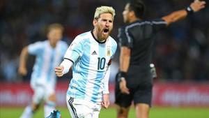 Messi es el líder absoluta de la selección argentina.