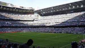 El estadio Santiago Bernabéu aumentó su nivel de seguridad
