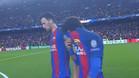 Neymar abandonó llorando el campo
