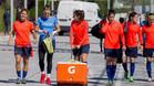 Las futbolistas del Barça entrenaron por última vez antes del decisivo partido contra el Levante