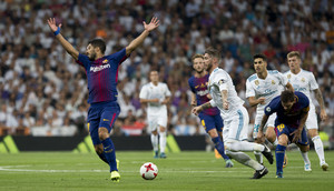 SUPERCOPA ESPAÑA. REAL MADRID 2- FC BARCELONA 0