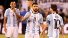 Ag�ero dice que �l tambi�n puede seguir la decisi�n de Messi