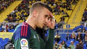 Álex Berenguer se despidió de Osasuna para recalar en el Torino