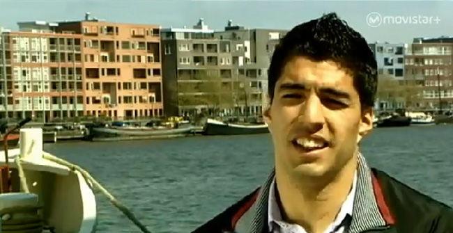 Luis Su�rez ya declaraba su amor por el Bar�a en 2009