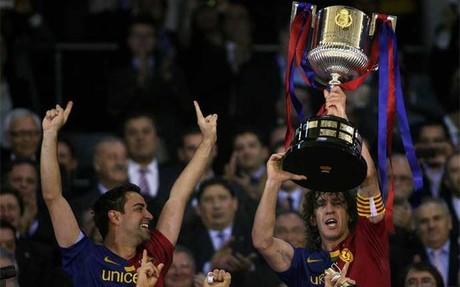 El FC Barcelona empezó a ganar su último doblete el 13 de mayo de 2009 en Valencia. Tres días después caía la Liga. Ahora ya puede presumir de seis