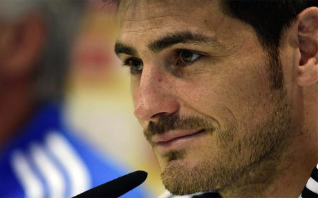 Casillas no se f�a del Bar�a