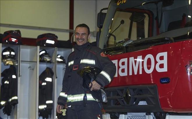 Dario Huesca, un 'veterano' de la Cursa Bombers. Ha corrido seis...