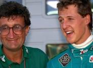 Eddie Jordan y Michael Schumacher