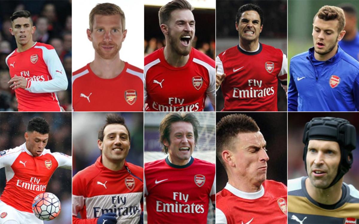 """El Arsenal """"en shock"""" por la plaga de lesiones"""