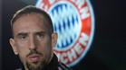 Franck Rib�ry, delantero del Bayern de M�nich