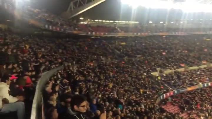 """El Camp Nou cant� """"�Cheryshev, te quiero!"""""""