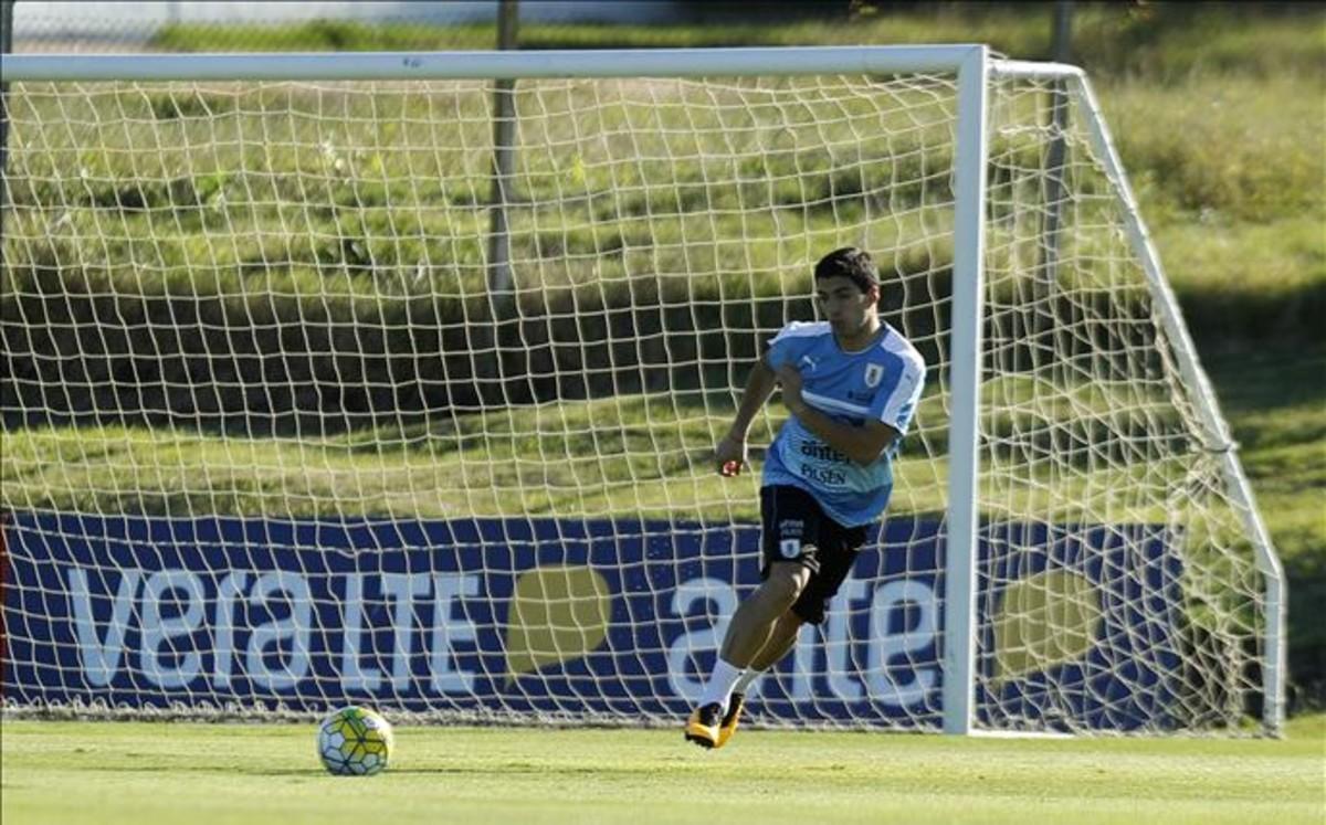 """Luis Su�rez: """"Cuando llegu� al FC Barcelona, me preguntaba d�nde jugar�a"""""""
