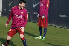Messi no fue a entrenar este mi�rcoles