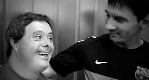 Messi, protagonista en el anuncio de los Special Olympics