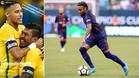 Guiño de Neymar a Paulinho por su cumpleaños