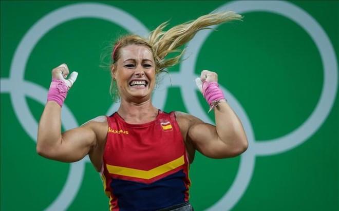 Lidia Valent�n celebra su bronce en R�o