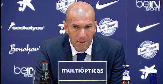El 'defecto' Zidane: De -2 a -9