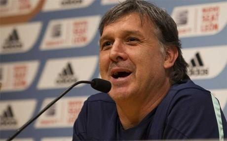 Gerardo Martino está seguro de que el Barça reaccionará